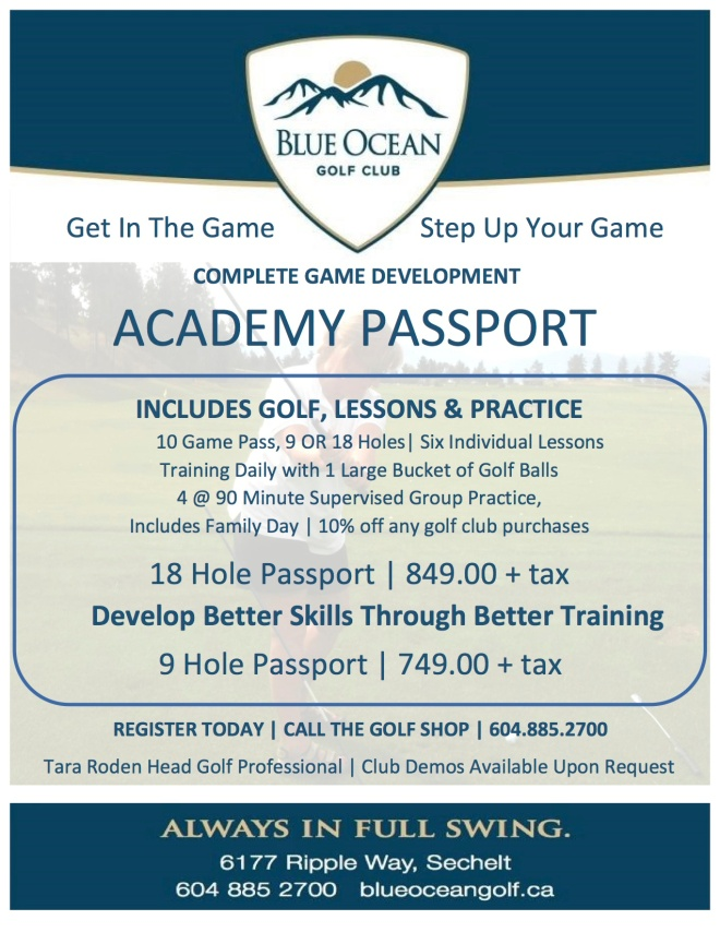 2016 Academy Passport