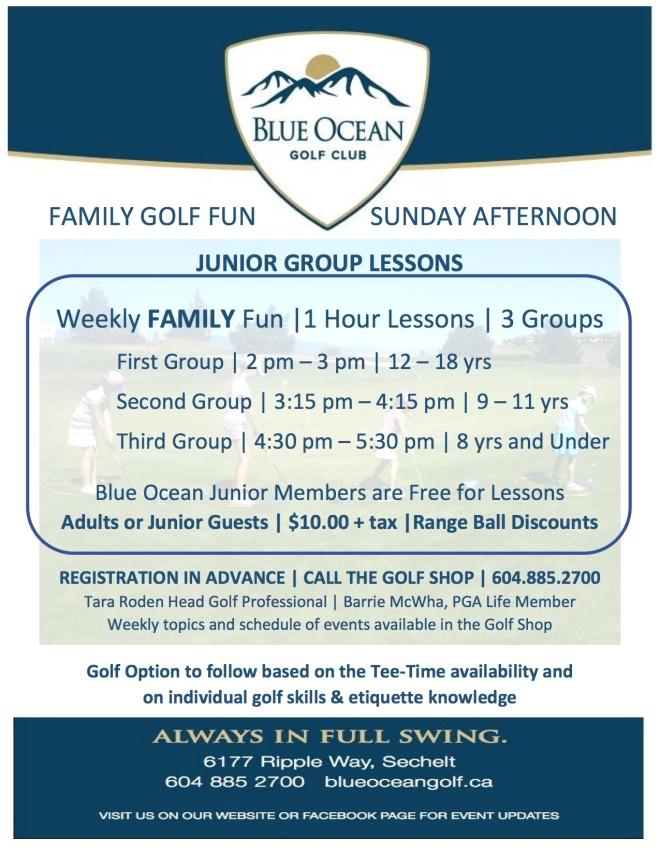 2016 Family Day - Sundays Handout